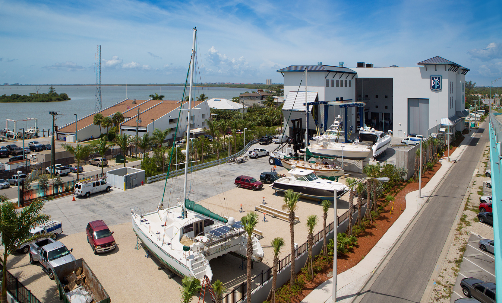 Diversified Yacht Services is located in Ft. Myers, Florida.